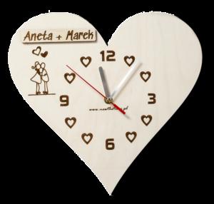 Zegar na ścianę prezent dla ukochanej